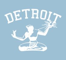 Spirit of Detroit (Vintage Distressed Design) Baby Tee