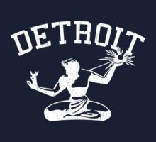 Spirit of Detroit (Vintage Distressed Design) One Piece - Long Sleeve