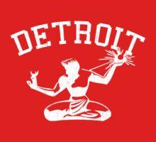 Spirit of Detroit (Vintage Distressed Design) Kids Clothes