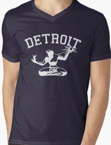 Spirit of Detroit (Vintage Distressed Design) Mens V-Neck T-Shirt