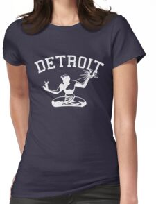 Spirit of Detroit (Vintage Distressed Design) Womens Fitted T-Shirt