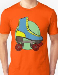 Retro Skate - Blue T-Shirt