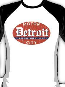 Vintage Detroit (Distressed Design) T-Shirt