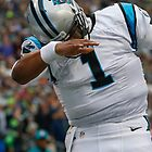 Cam Newton Dab by Arshp