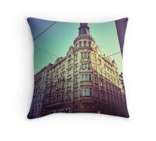 Czech Architecture  Throw Pillow