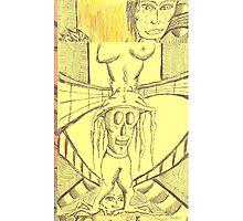 self poor trait Photographic Print