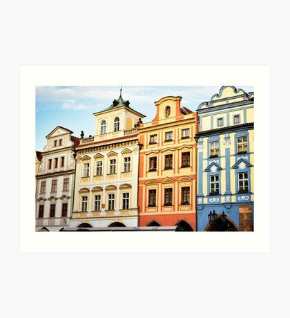 Prague Neighborhood Art Print