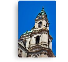 Czech Tower Canvas Print