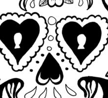 The Smiling Skull Sticker