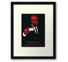 American Psycho: There Is An Idea of a Patrick Bateman Framed Print