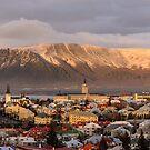 View from Perlan by Ólafur Már Sigurðsson