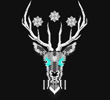 Geometric Silver Deer Unisex T-Shirt
