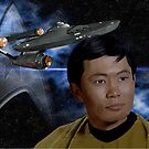 George Takei - Mr. Sulu by Andrew Wells