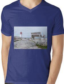Peggy's Cove Mens V-Neck T-Shirt