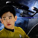 John Cho - Mr. Sulu by Andrew Wells