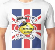 The Travelling Lemon - Union Jack edition Unisex T-Shirt