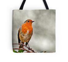 Robin on Ivy Tote Bag