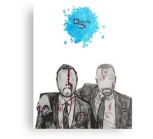 Jesse and Mr White Metal Print