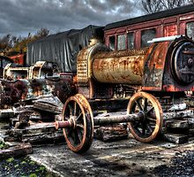 Railway Yard by Andrew Pounder