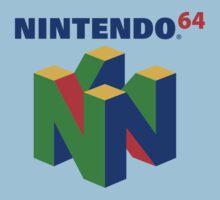 Nintendo 64 One Piece - Short Sleeve