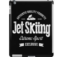 JetSkiing Extreme Sport White Art iPad Case/Skin
