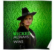 Wicked Rebecca Mader) Poster