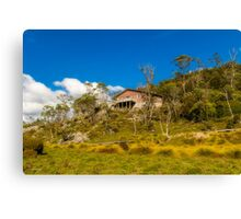 A Home in Cradle Mountain, Tasmania Canvas Print