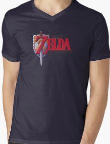 Zelda Link's Awakening Mens V-Neck T-Shirt