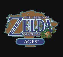 Zelda Oracle of Ages Kids Tee