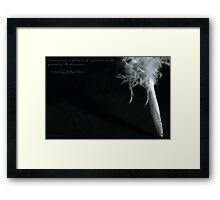A New Word... Framed Print