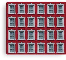 24 Windows Canvas Print