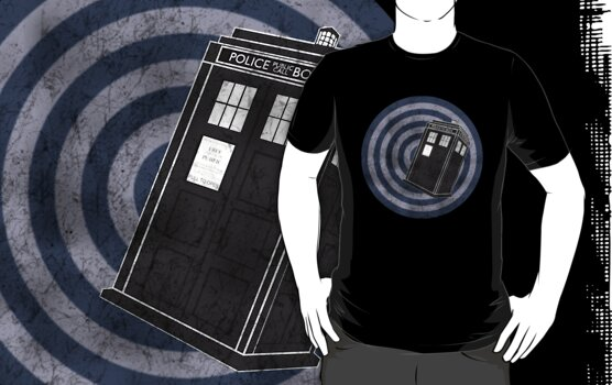 Tardis (Distressed) by ixrid