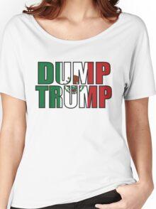 Dump Trump Mexican Flag Women's Relaxed Fit T-Shirt
