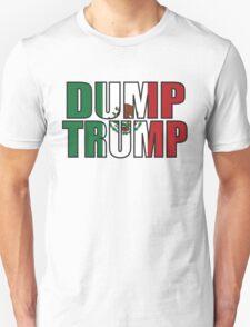 Dump Trump Mexican Flag Unisex T-Shirt