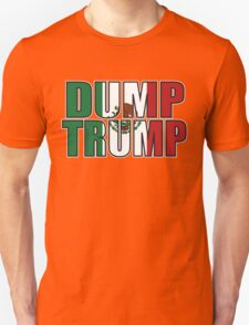 Dump Trump Mexican Flag T-Shirt