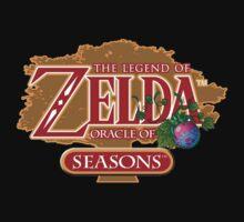 Zelda Oracle of Seasons One Piece - Short Sleeve
