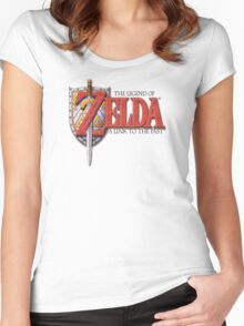 Zelda A Link to the Past Women's Fitted Scoop T-Shirt