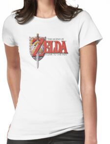 Zelda A Link to the Past Womens Fitted T-Shirt