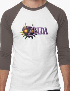Zelda Majora's Mask Men's Baseball ¾ T-Shirt