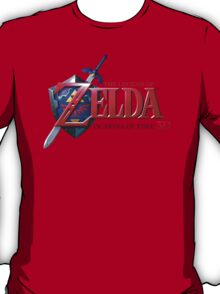 Zelda Ocarina of Time T-Shirt