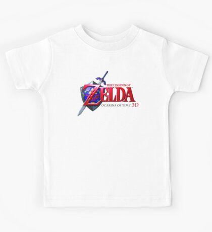 Zelda Ocarina of Time Kids Tee