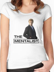 The Mentalist - Patrick Jane Women's Fitted Scoop T-Shirt