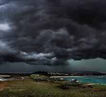 Coffs Harbour Supercell by dan  stewart