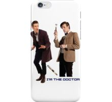 Doctor who - 11th Doctor  iPhone Case/Skin