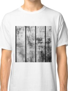 BLACK AND WHITE FENCE Classic T-Shirt