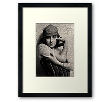 The Gloria Swanson Tattoo Framed Print