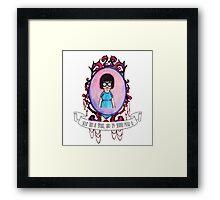 Tina! Framed Print