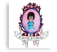 Tina! Canvas Print