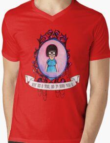 Tina! Mens V-Neck T-Shirt