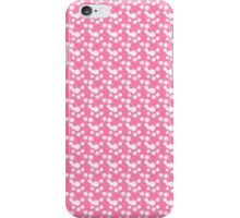Flowers, Petals, Blossoms - Pink White iPhone Case/Skin